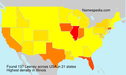 Surname Leeney in USA