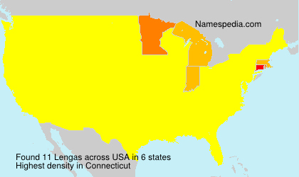 Surname Lengas in USA