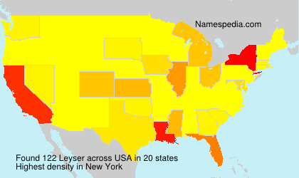 Surname Leyser in USA