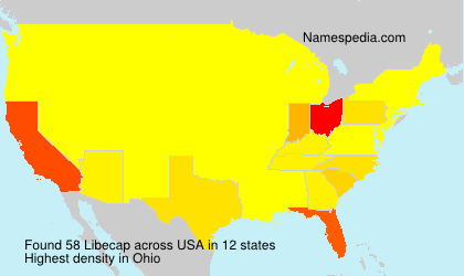 Surname Libecap in USA