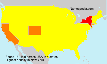 Surname Libid in USA