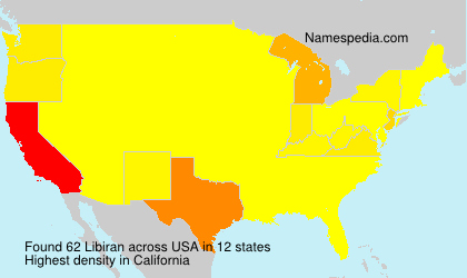 Surname Libiran in USA