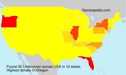 Surname Limbrunner in USA