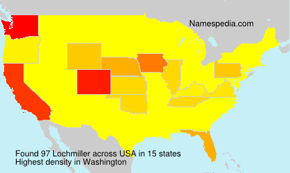 Surname Lochmiller in USA