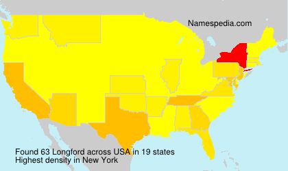 Surname Longford in USA