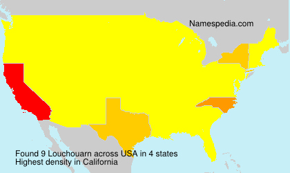 Surname Louchouarn in USA