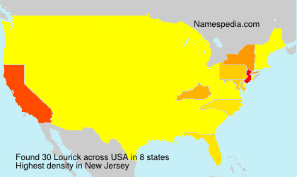 Surname Lourick in USA