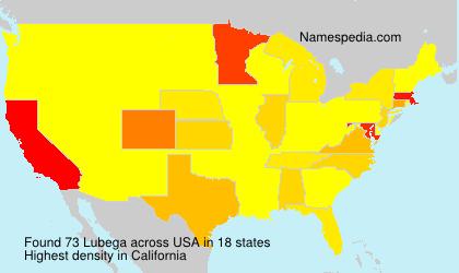 Familiennamen Lubega - USA