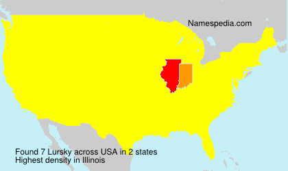 Surname Lursky in USA