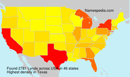 Surname Lynda in USA
