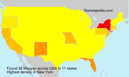 Maayan - USA