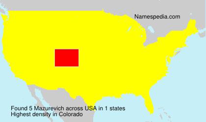 Mazurevich - USA
