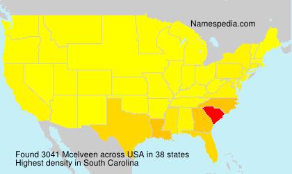 Mcelveen - Names Encyclopedia