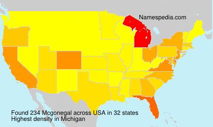 Mcgonegal