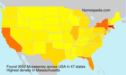 Mcsweeney - Names Encyclopedia