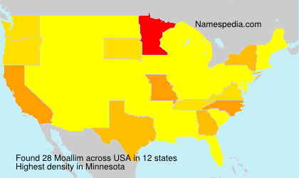 Surname Moallim in USA