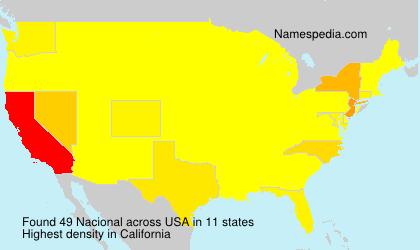 Nacional - USA