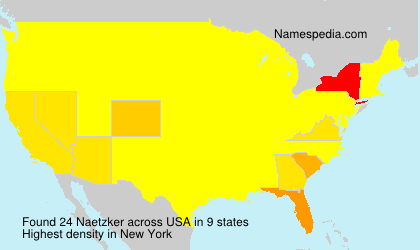 Surname Naetzker in USA
