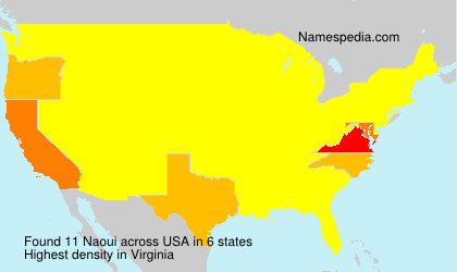 Surname Naoui in USA