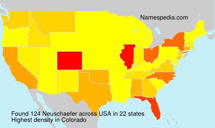 Familiennamen Neuschaefer - USA