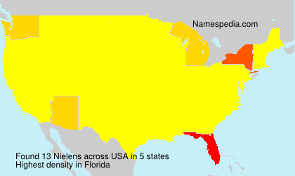 Surname Nielens in USA