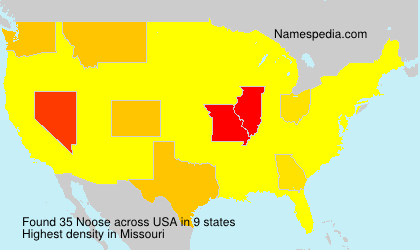 Surname Noose in USA