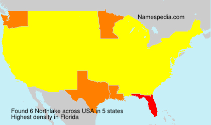 Surname Northlake in USA