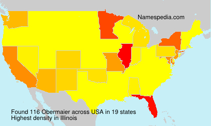 Surname Obermaier in USA