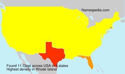 Surname Ojopi in USA