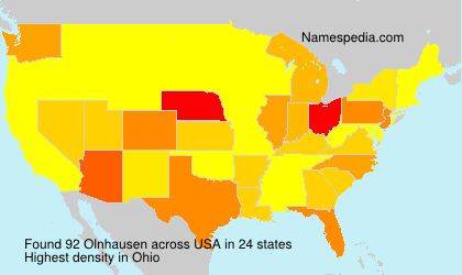 Surname Olnhausen in USA