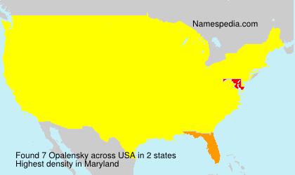 Opalensky - USA