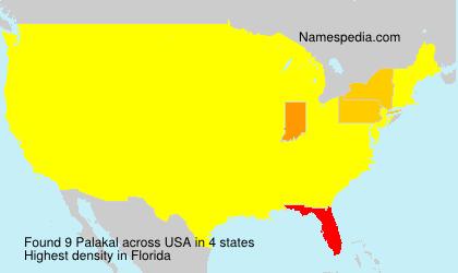 Surname Palakal in USA
