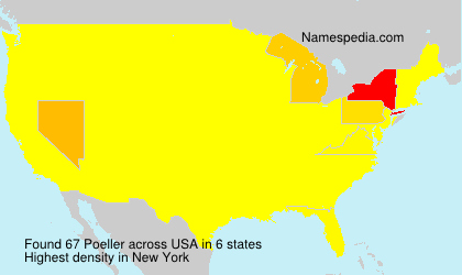 Surname Poeller in USA