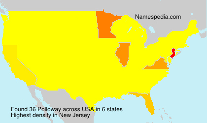 Surname Polloway in USA