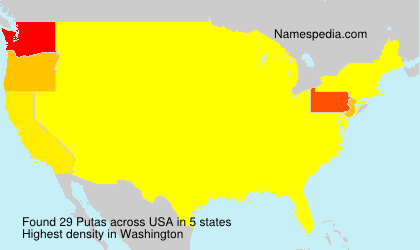 Surname Putas in USA