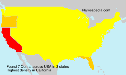 Quitral - USA