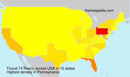 Rearic - USA