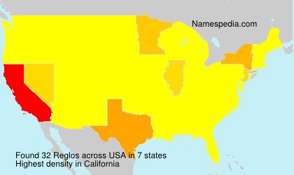 Surname Reglos in USA