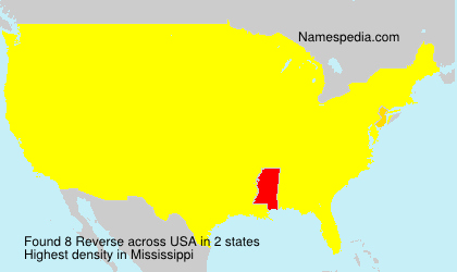 Surname Reverse in USA