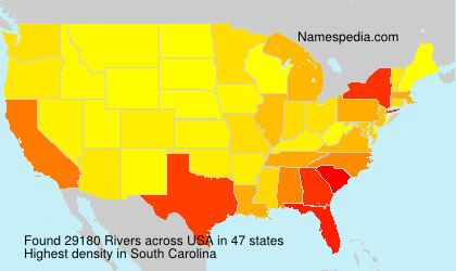 Surname Rivers in USA