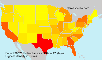 Surname Roland in USA