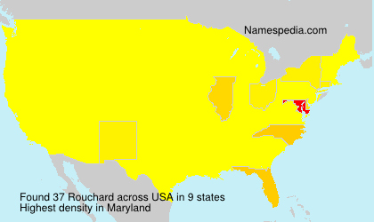 Surname Rouchard in USA
