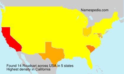 Surname Roudsari in USA