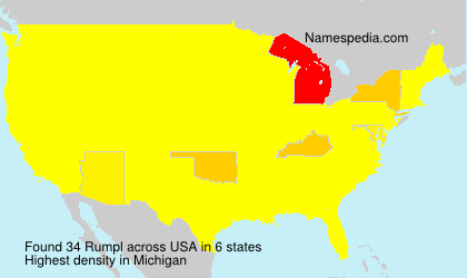 Surname Rumpl in USA