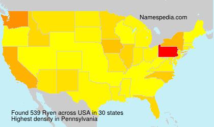 Ryen - Names Encyclopedia