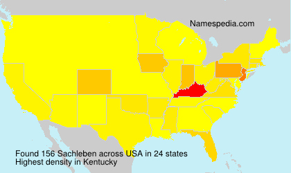 Surname Sachleben in USA