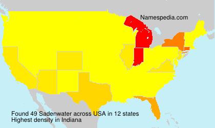 Sadenwater