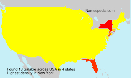 Surname Salabie in USA