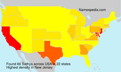 Surname Sathya in USA