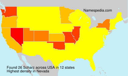 Surname Scharz in USA